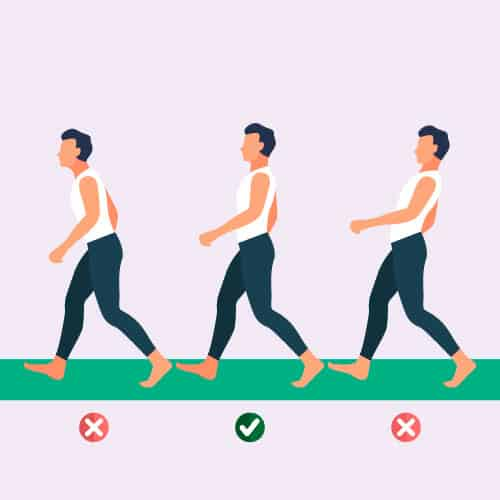 Good Walking Posture