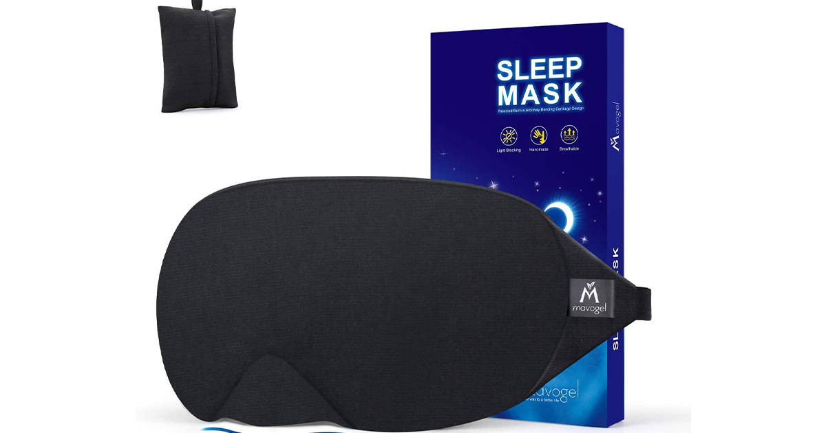 Mavogel's cotton sleep mask