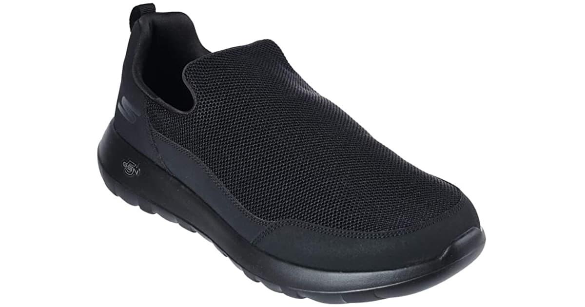 Skechers Men Gowalk Max Privy-Slip-on Walking Shoe Sneaker