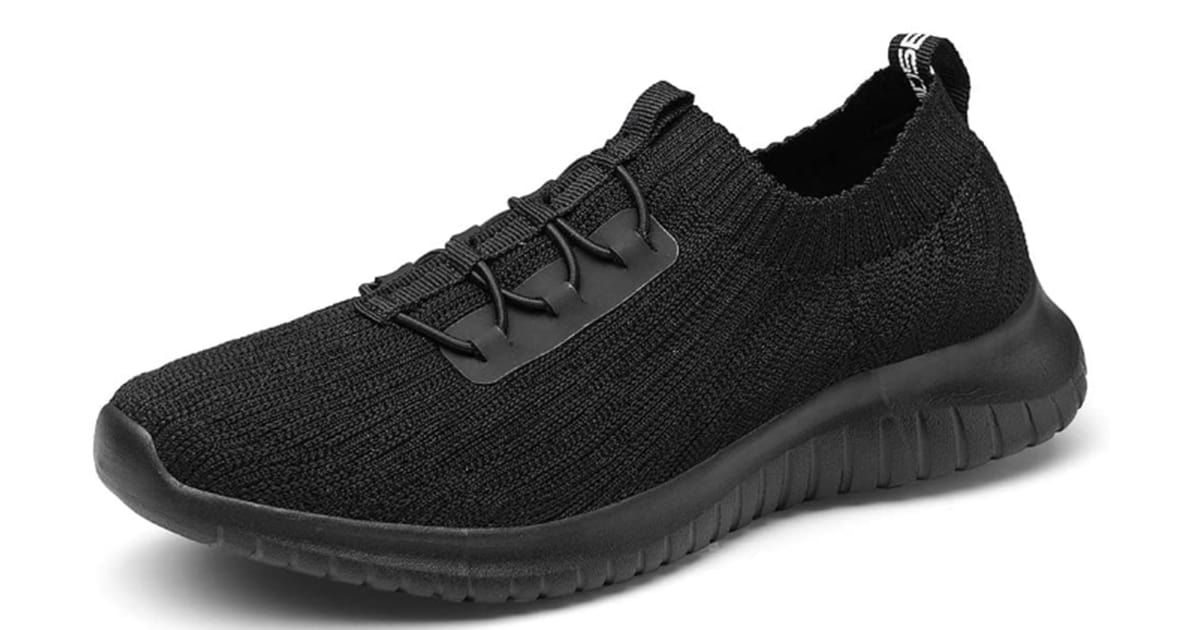 TIOSEBON Women's Athletic Walking Shoes Casual Mesh