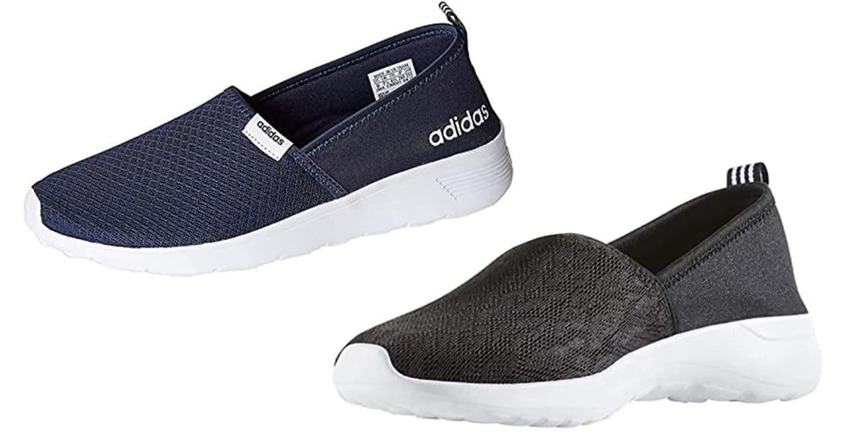 Adidas NEO Women's Lite Racer Slip On Casual Sneaker