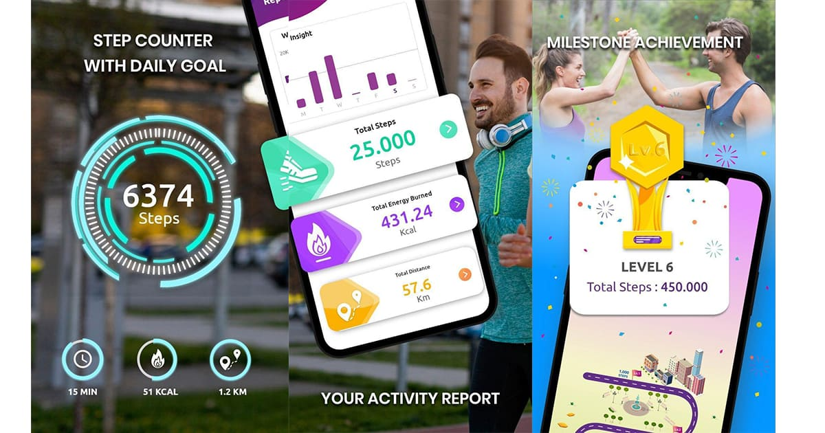 Pedometer-Step Counter & Tracking Your Steps