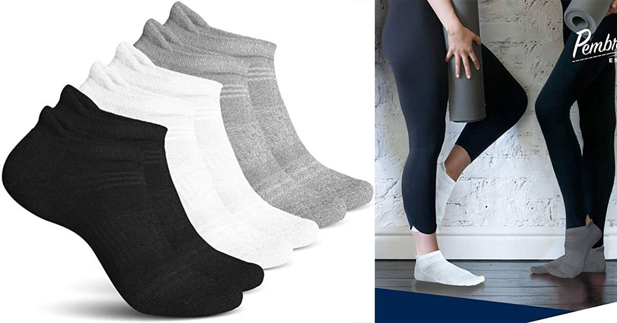 Pembook Athletic Socks for Women