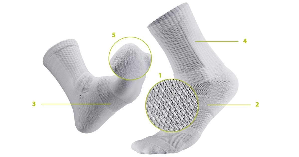 Socks Ventilation